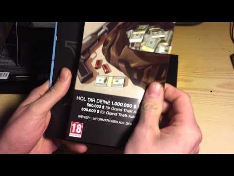 Gta 5 PC  Unboxing
