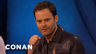 "Bill Hader's Impression of ""IT Chapter Two"" Director Andy Muschietti - CONAN on TBS"