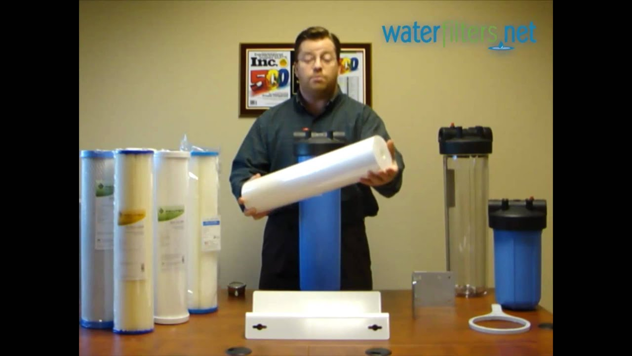 Untreated Well Water Filter System Youtube