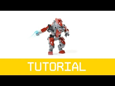 LEGO Halo Elite Tutorial