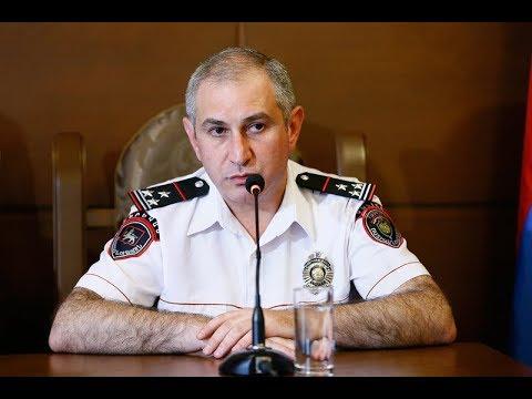 Ոստիկանության պետը ներկայացրեց Երևան քաղաքի վարչության նորան....