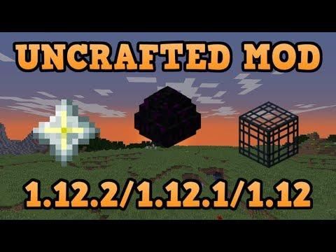 UNCRAFTED MOD (1.12.2/1.12.1/1.12)! Minecraft review en español 2017