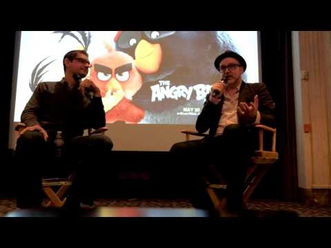 Press Interview With The Directors Of The Angry Birds