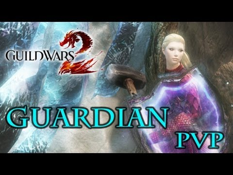 Guild Was 2: Protection Guardian Gameplay sPVP - Staff+Hammer - Profession Build Spotlight
