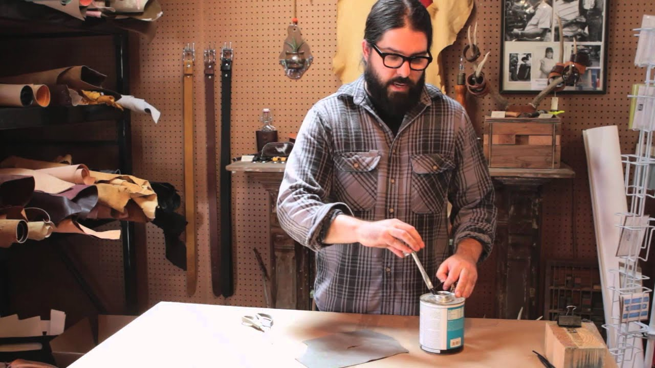 Gluing a Leather Patch on a Leather Jacket : Working With ...