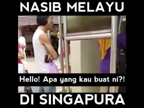 Nasib melayu di singapore 😠😈 thumbnail