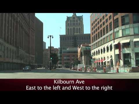 Downtown Streets: Milwaukee, WI