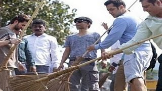 Salman Khan accepts PM Narendra Modis CLEAN INDIA CHALLENGE