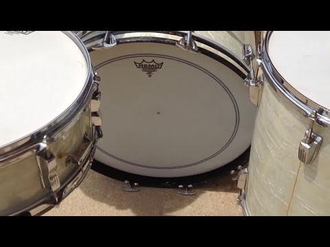 Steve Maxwell WFL Ludwig 50s WMP drum set