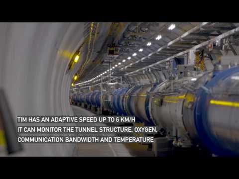 TIM the Robot: Monitoring the LHC tunnel