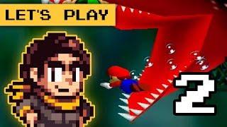 Super Mario 64 Part 2 N64 - Let's a PLAY!