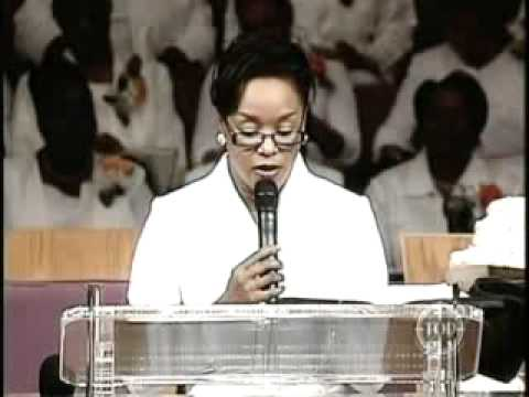 Evangelist Ruby Holland -Hutchins - Act Like You Know/ Romans 8:28