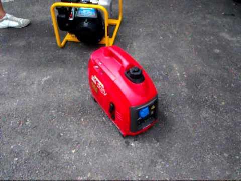 Eladó HONDA EU10i generator áramfejlesztő vs Honda GC135 Honda generators for sale.