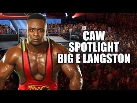 Get BIG E LANGSTON From RAW on WWE 13! CAW Spotlight By 'Jman2x' (Xbox 360)