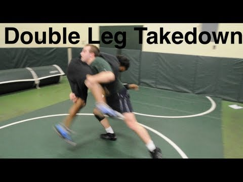 Double Leg Takedown: Basic Wrestling Techniques and Moves For Beginners Image 1