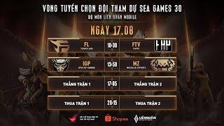 TRỰC TIẾP: HTVC IGP GAMING vs FAPTV - Vòng tuyển chọn đội tuyển tham dự  SEA Games 30