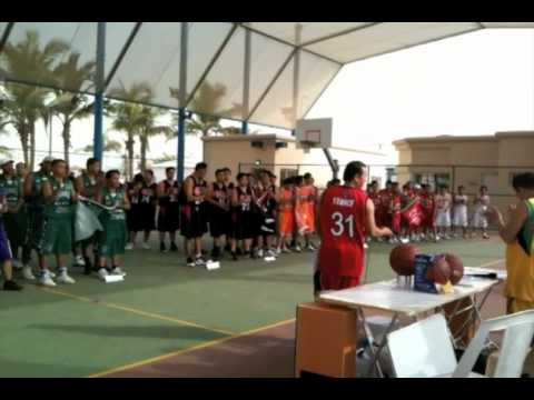 Jeddah Pinoy Basketball Association Opening - Faisal Sports Park Jeddah Saudi Arabia