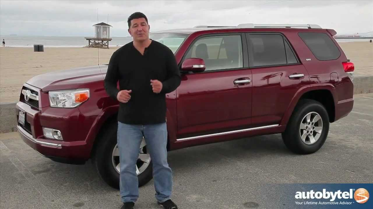 2012 Toyota 4Runner Test Drive & SUV Video Review - YouTube