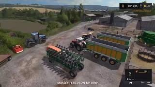 Farming simulator 17 Timelapse #25 | Oak Field