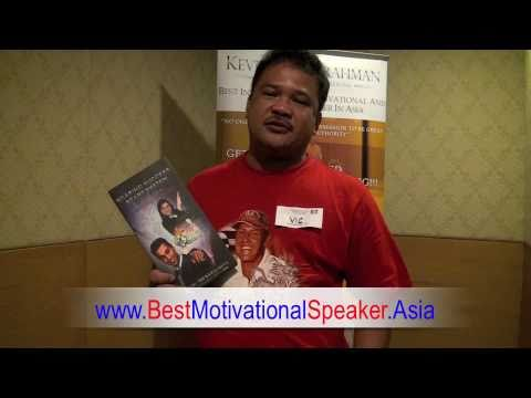 Best Motivational Speaker Asia Kevin Abdulrahman Asia's Best Motivational Speaker Recommended 19