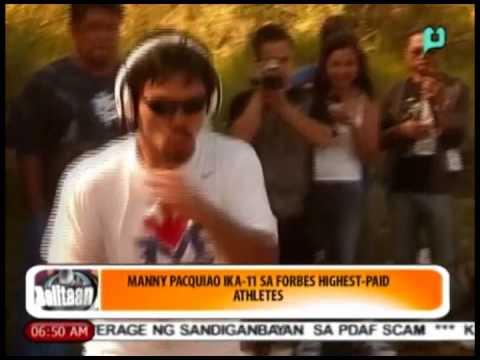 Balitaan - Sports Ngayon: Manny Pacquiao ika-11 sa Forbes Highest-Paid Athletes [06/13/14]