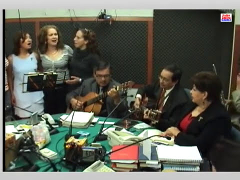 cuatro voces femeninas interpretan flor de azalea - martinez serrano