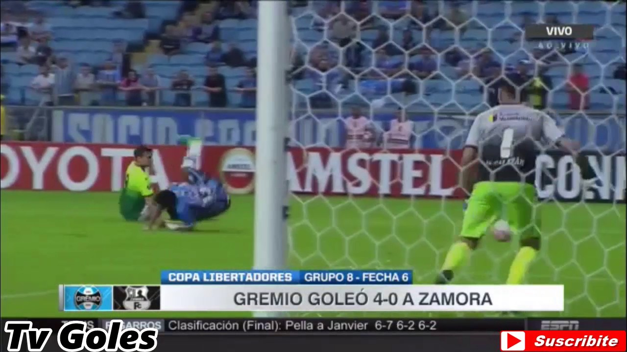 Gremio (RS) 4-0 Zamora Barinas