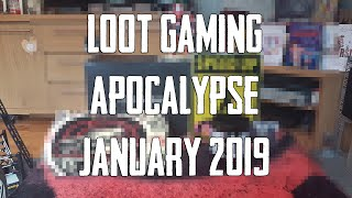 LOOT GAMING | APOCALYPSE | JANUARY 2019 UNBOXED