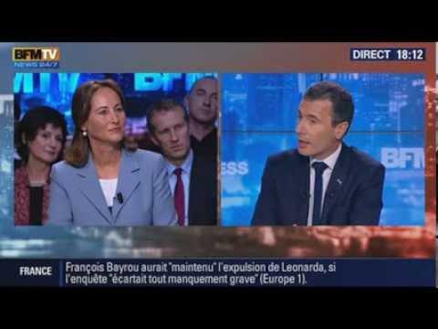 BFM Politique L'interview de Ségolène Royal par Thierry Arnaud #Leonarda