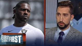 AB's productivity will be 'more difficult' with Raiders, talks Big Ben | NFL | FIRST THINGS FIRST