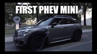 MINI Cooper S E Countryman (ENG) - First PHEV MINI