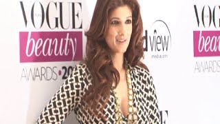 Twinkle Khanna spotted at Vogue Beauty Awards 2014.