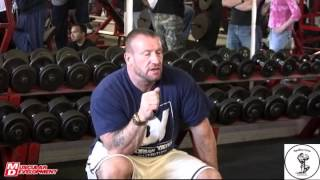 Dorian Yates: Blood & Guts Seminar at Apollon Gym 1 / 5