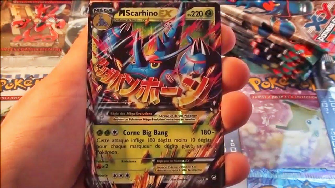 A voir ouverture de 10 boosters pok mon xy 3 poings furieux ft missjirachi mega ex pioche - Tout les carte pokemon ex du monde ...