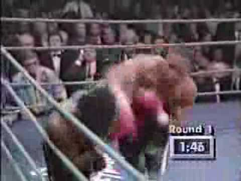 Nigel Benn Vs Gerald McClellan 1 Video