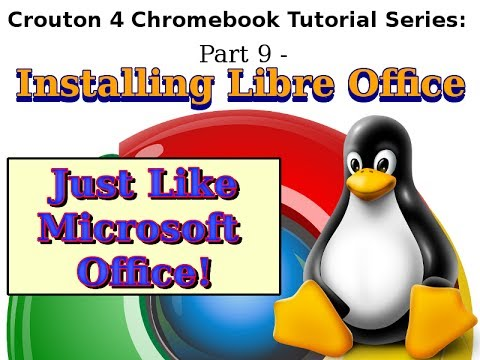 Linux & Chromebooks - LibreOffice