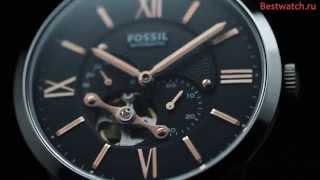 Механические часы с автоподзаводом Fossil ME3061 и ME3064