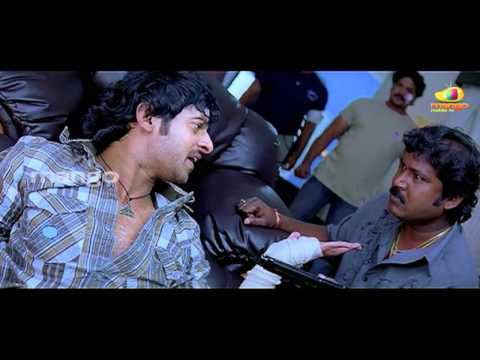 prabhas with mohan babu - Baahubali prabhas bujjigadu movie...