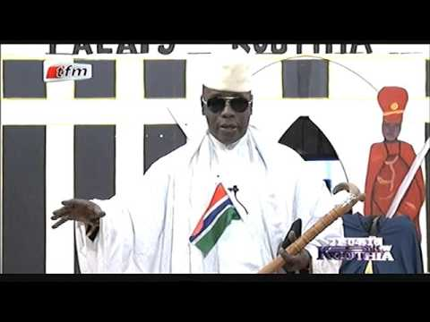 Yahya Jammeh j'ai pas peur de Macky - Kouthia show - 21 avril 2016