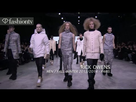 Rick Owens Men Fall/Winter 2013-14 | Paris Men's Fashion Week | FashionTV