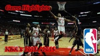 Los Angeles Lakers vs Chicago Bulls - 16.01. Game Highlights - NBA - SEASON 2018-19