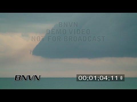 6/8/2007 Siesta Beach, FL - Thunderstorm Video