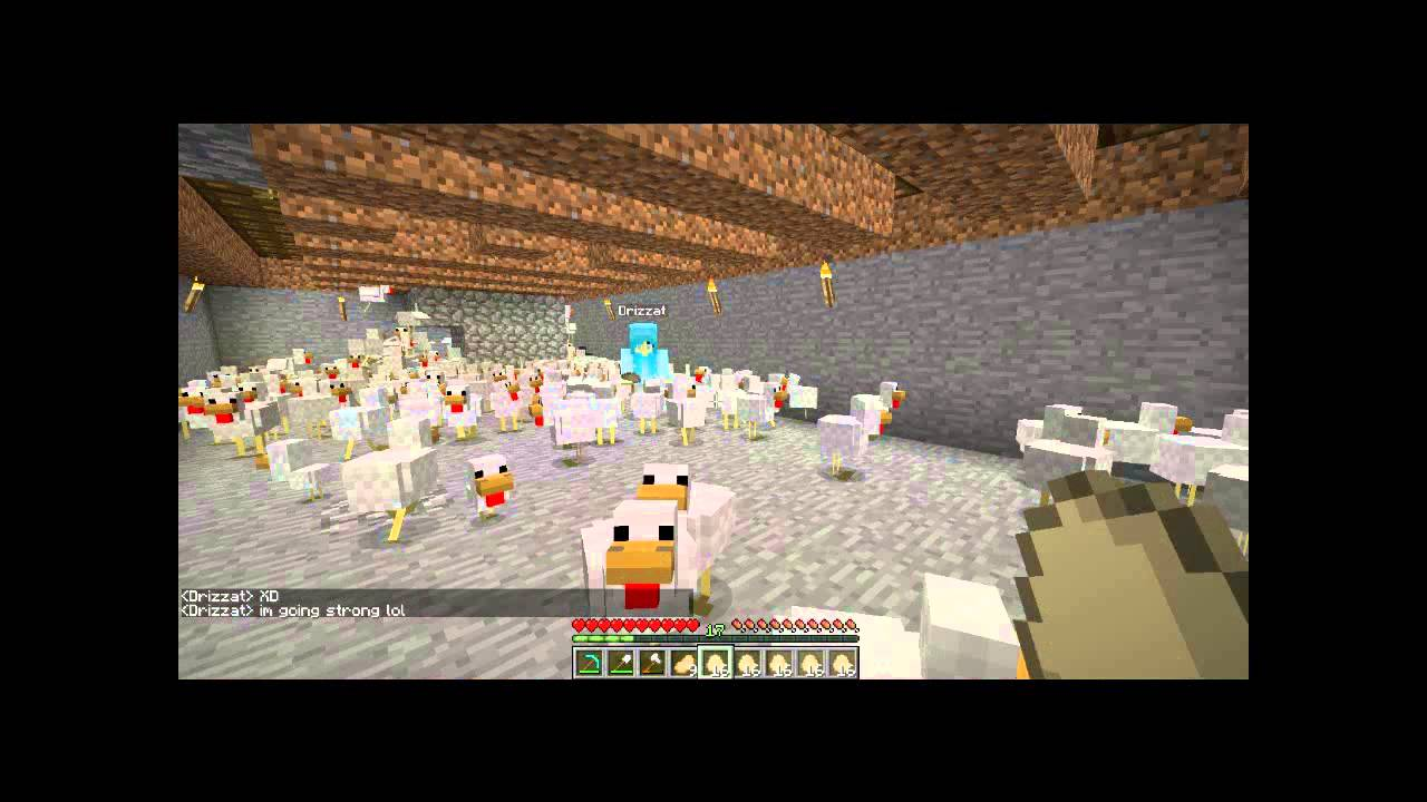 Chicken Minecraft Style Chicken Farming Minecraft