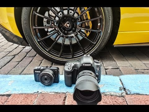 Canon EOS M VS 5D Mark III - Can a $400 camera stand up to the $4000 champ?