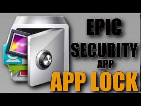 THE EPIC SECURITY APP  (APP LOCK ) 2014 !!!