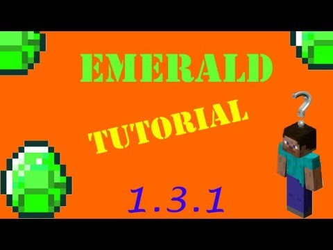 How to use NEW Emerald Block - Minecraft 1.5.2