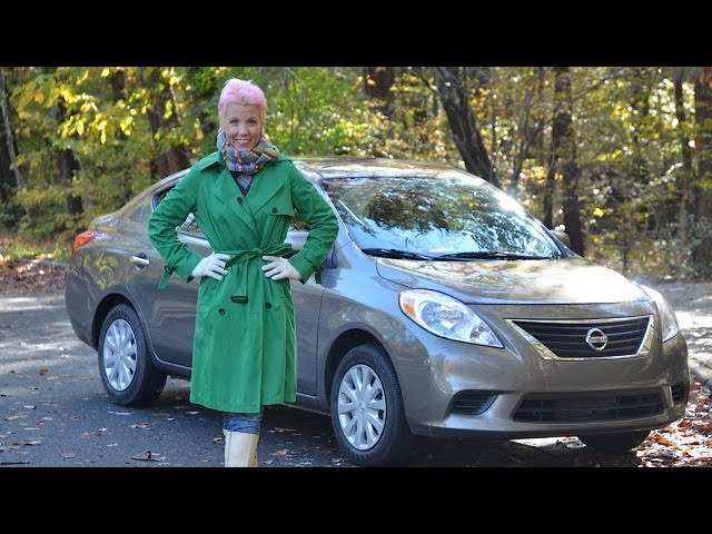 Nissan Versa 2012 Test Drive & Car Review by RoadflyTV with Emme Hall