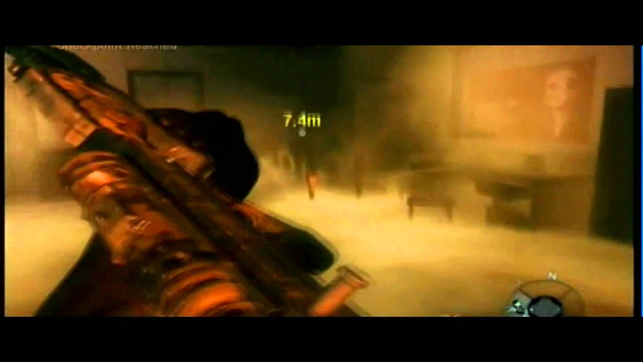 Call of Duty Black Ops biohazard suit nova 6 attack gameplay.wmv - YouTube