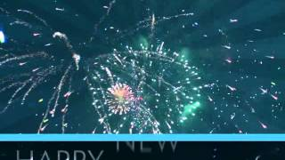 Happy New Year Explosion Video Loop