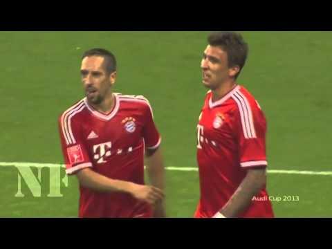 Mario Mandzukic vs Manchester City - Audi Cup 2013